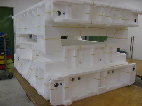 Styropor spachtel modellbau